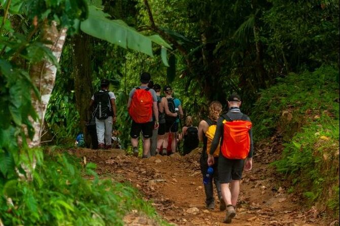 Lost City Trek Walking
