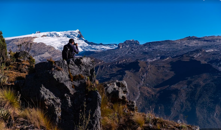Capturing the perfect picture of the Andes