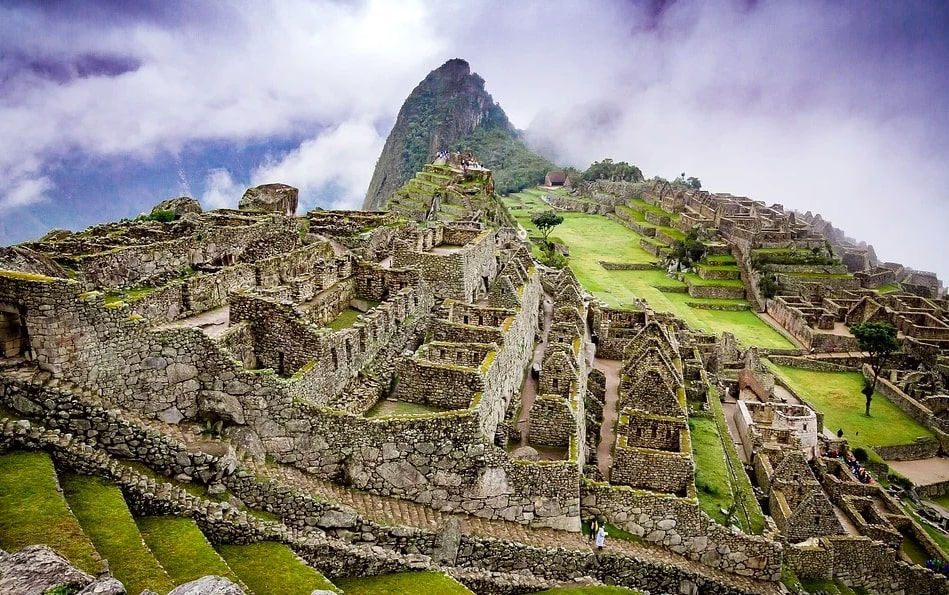 Machu Picchu on a virtual tour