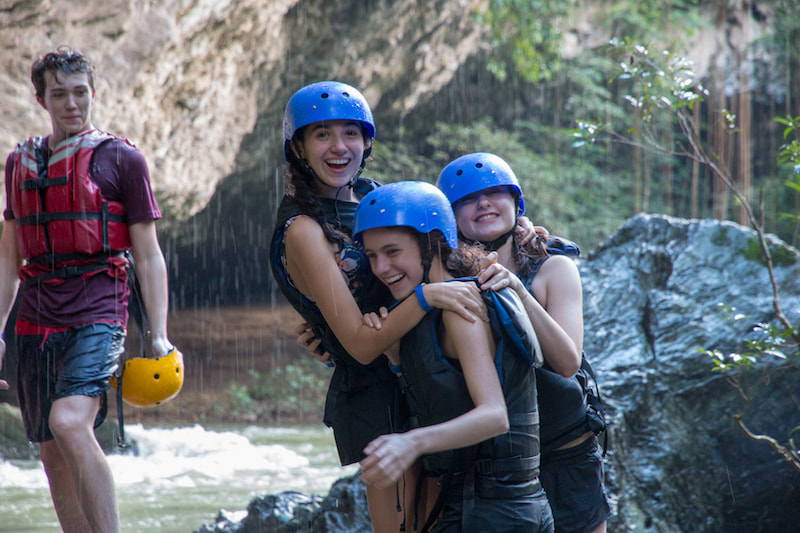 Study Abroad Colombia Rafting