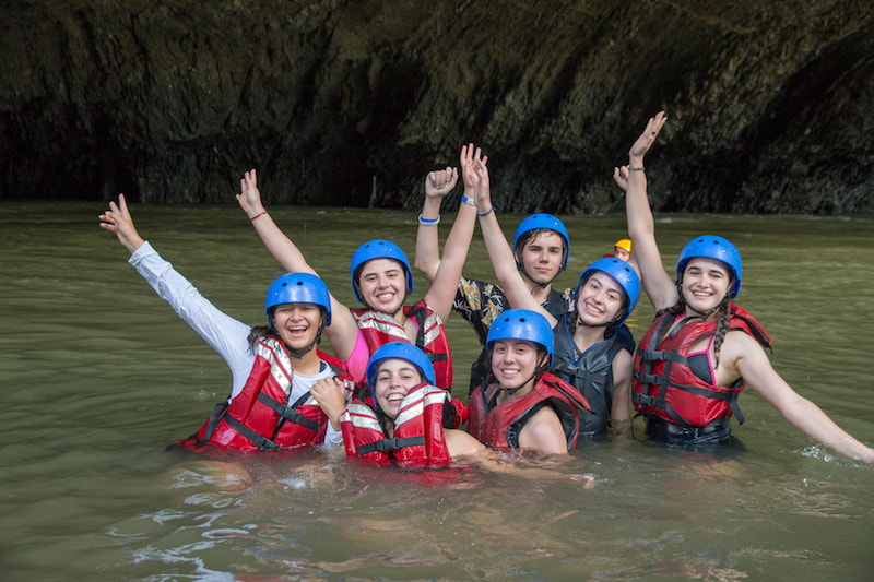 Study Abroad Colombia Rafting Rio Claro
