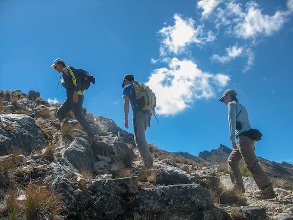 Hiking Colombia's Andes peaks